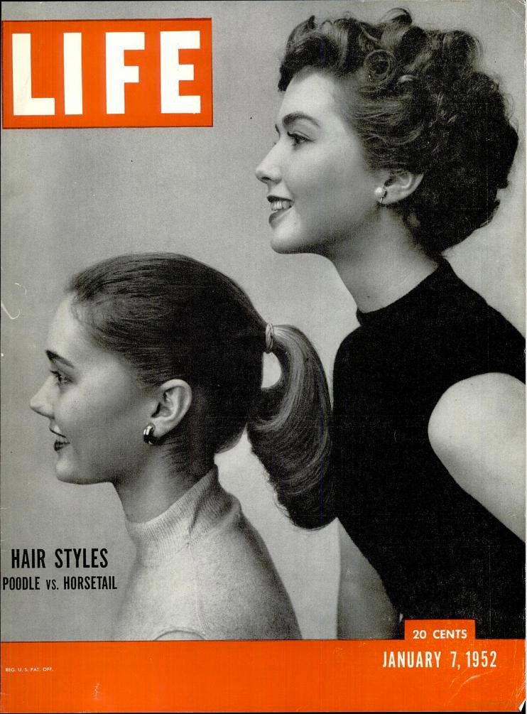 January 7, 1952 cover of LIFE magazine.