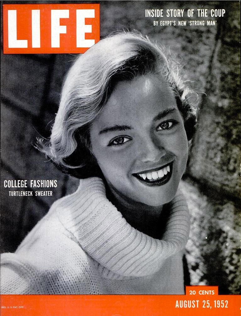 August 25, 1952 issue of LIFE magazine.