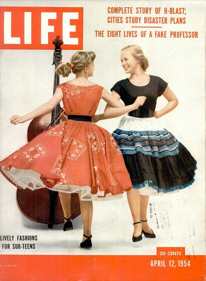 April 12, 1954 issue of LIFE magazine.