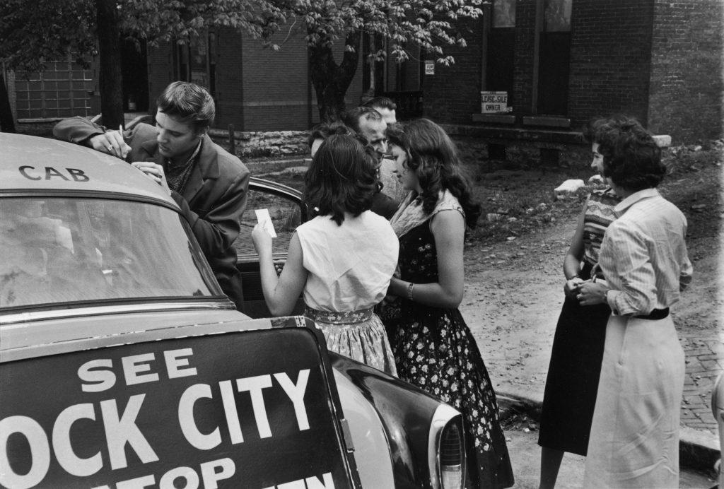 Elvis Presley in Nashville 1956