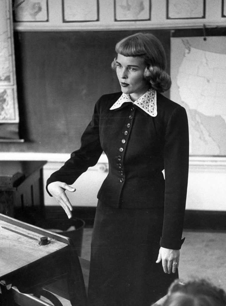 Prettiest School Teacher 1953