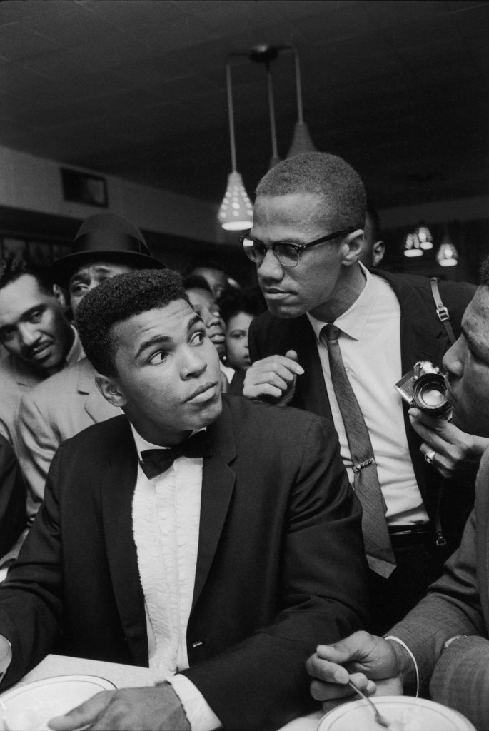 Cassius Clay And Malcolm X 1964