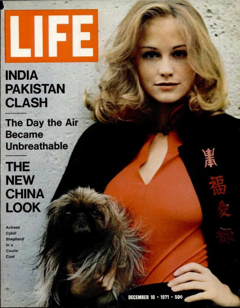 December 10, 1971 cover of LIFE magazine.