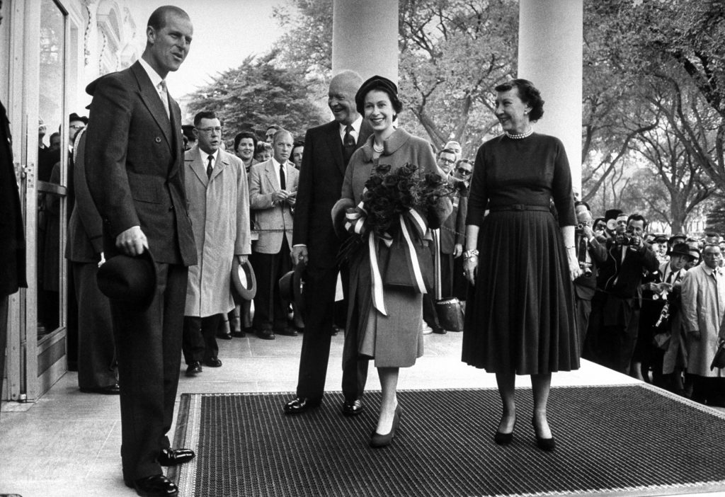 Queen Elizabeth II's 1957 North America tour.