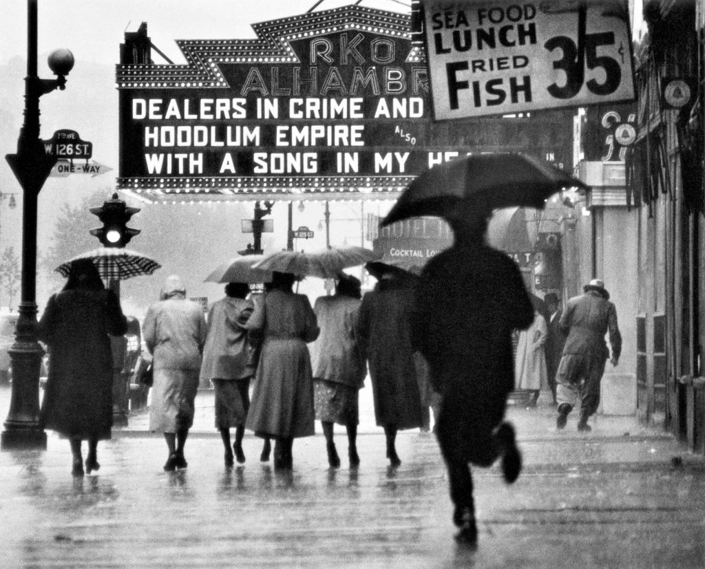 Harlem Neighborhood, Harlem, New York, 1952. Gordon Parks