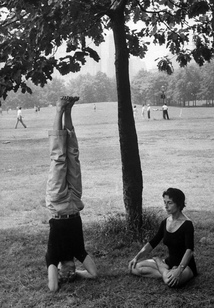 Vintage Yoga photo from LIFE magazine.