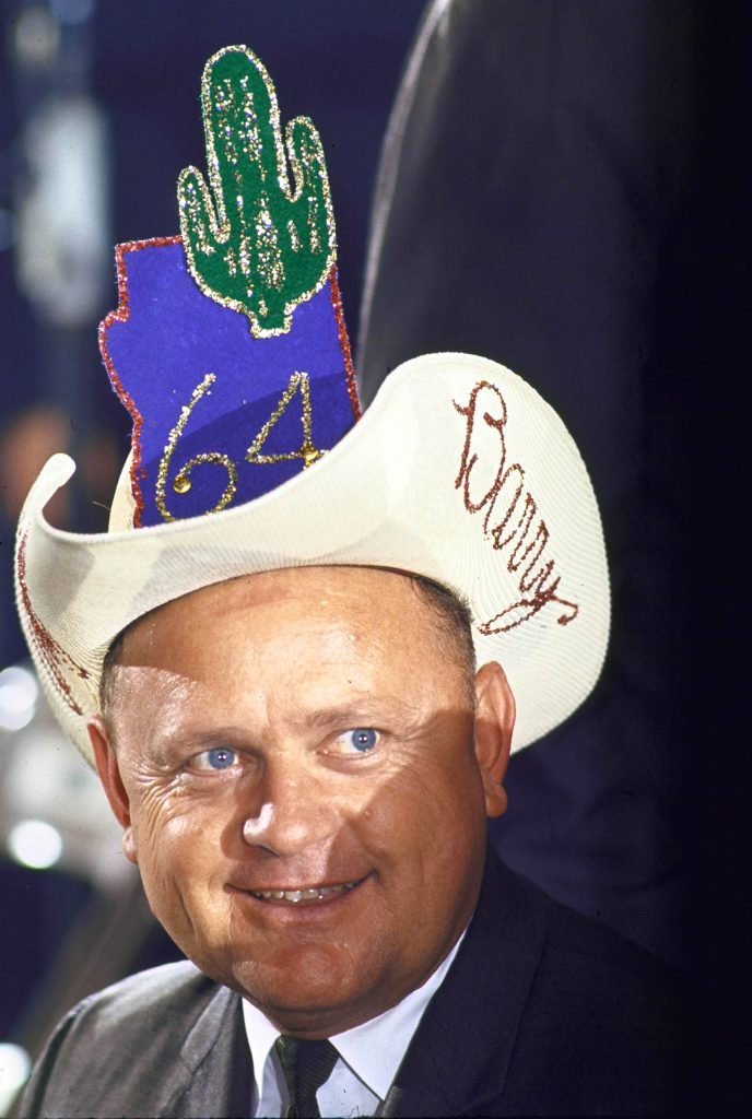 Colorful hat supporting Barry Goldwater at the Republican National Convention, 1964.