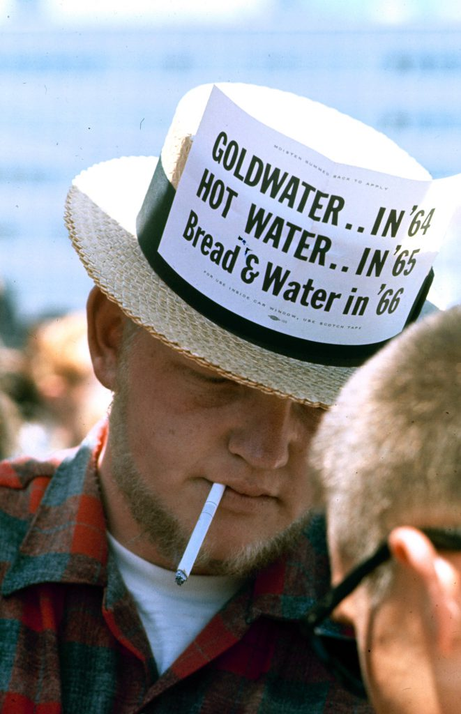 Barry Goldwater hat at the Republican National Convention, 1964.