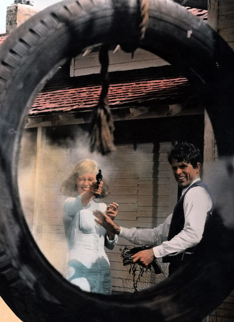 Bonnie And Clyde, Faye Dunaway, Warren Beatty, 1967.