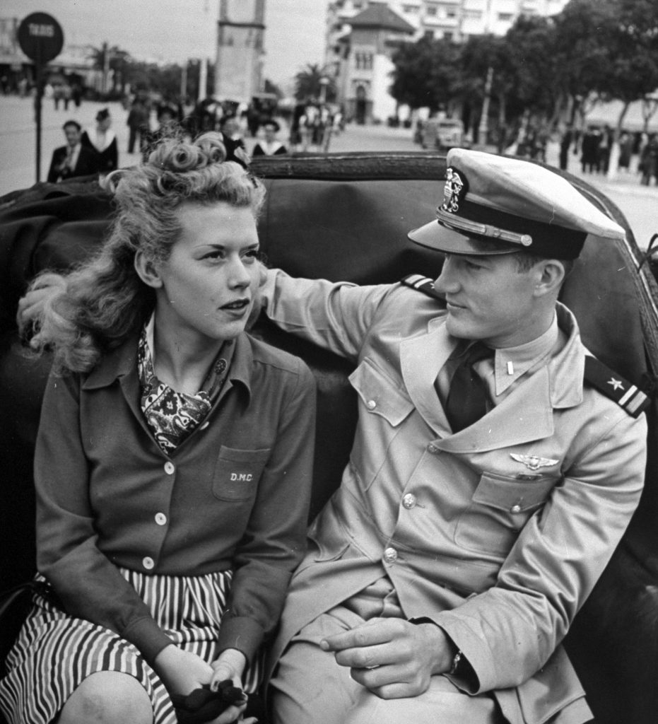 Casablanca love story during World War II, 1943.