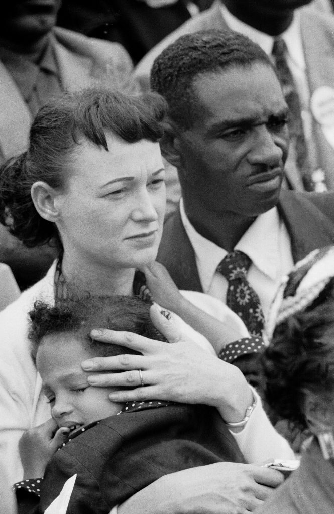 Faces from MLK's Prayer Pilgrimage for Freedom in Washington D.C., 1957.