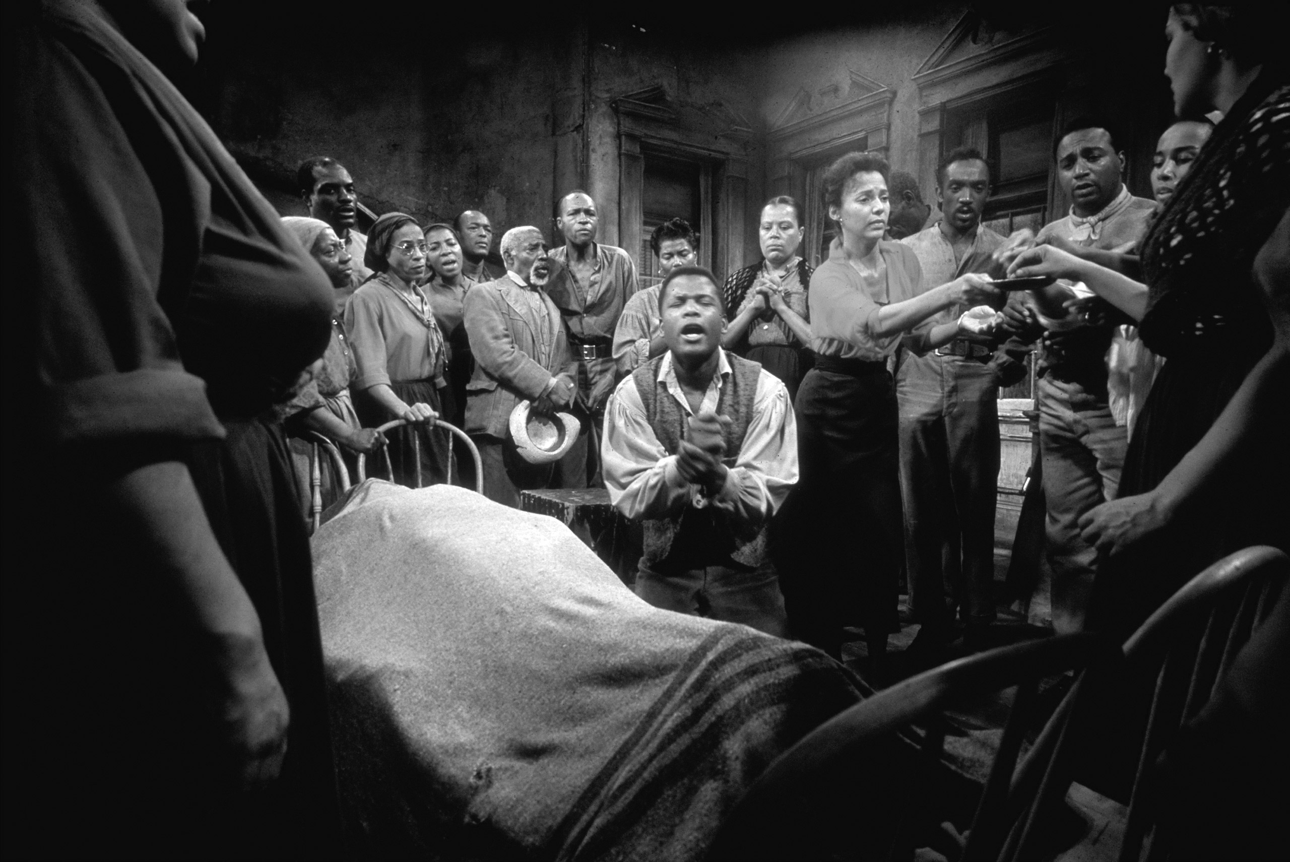 "Sidney Poitier in a scene from ""Porgy and Bess,"" 1959."