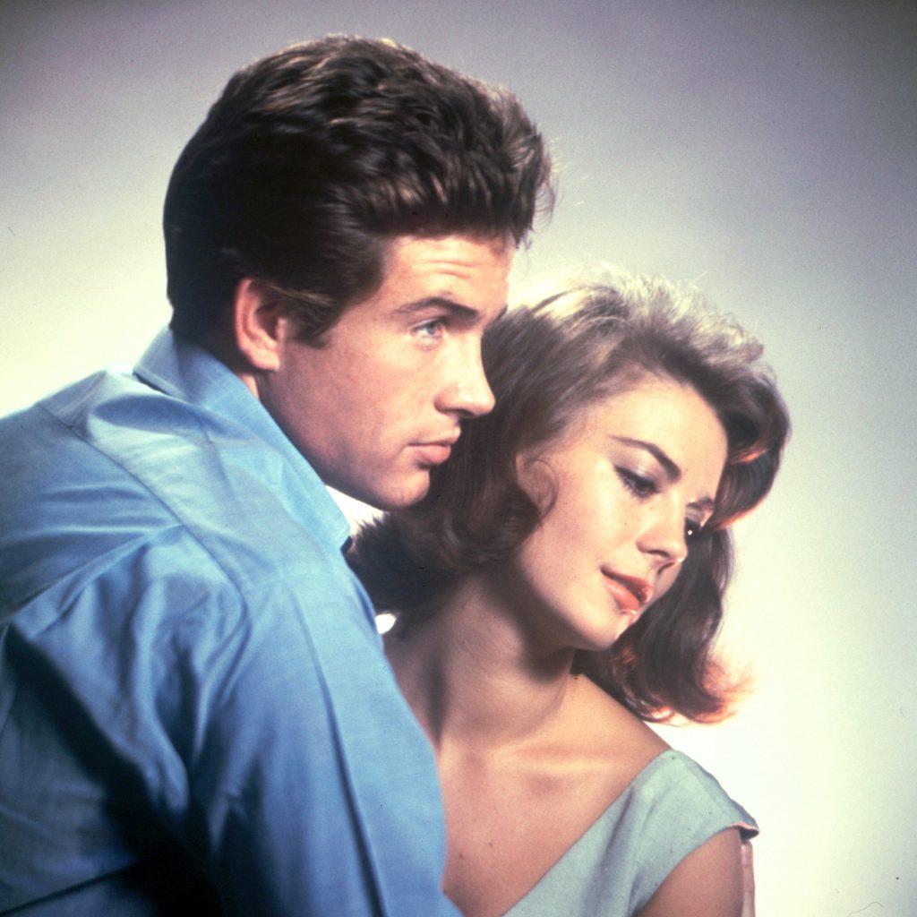 Warren Beatty and Natalie Wood, 1961.