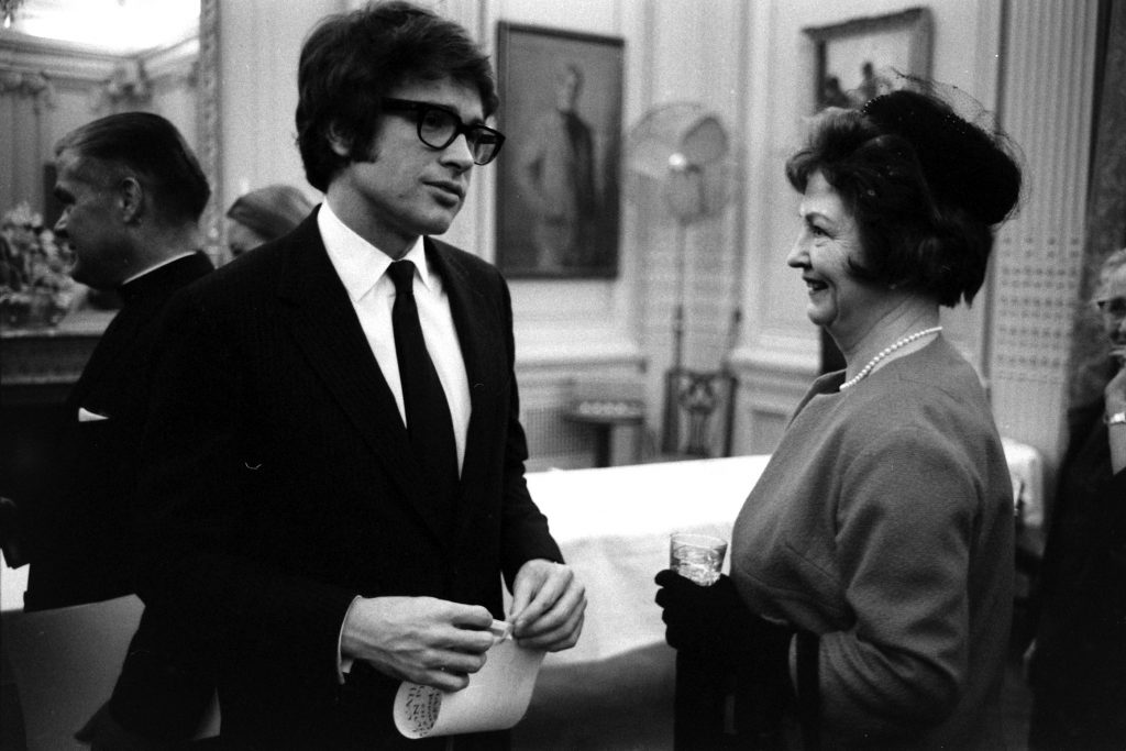 Warren Beatty at the National Catholic Office for Motion Pictures in 1967.