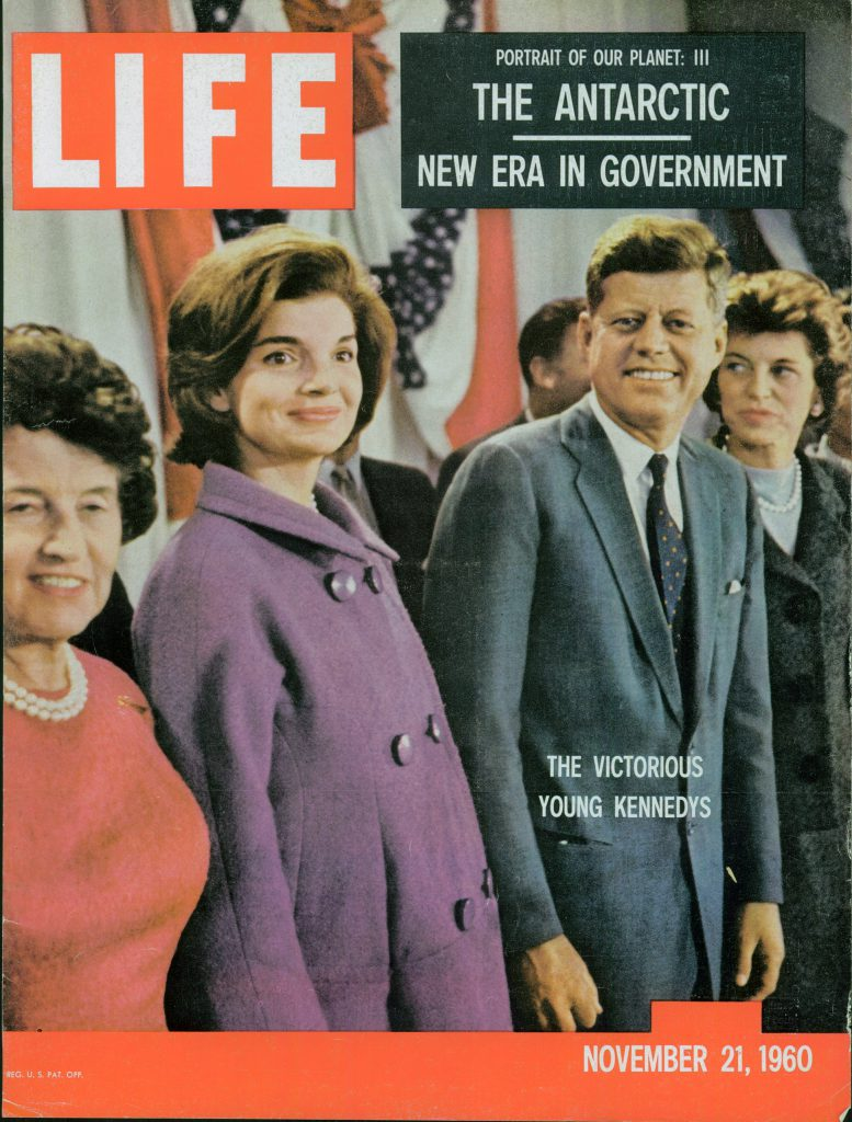 Nov. 21, 1960 cover of LIFE magazine. Cover photo by Paul Schutzer.