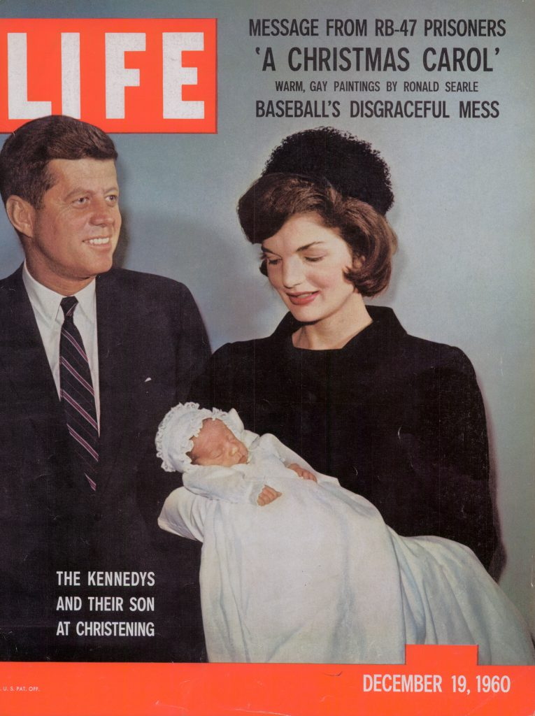 Dec. 19, 1960 cover of LIFE magazine. Cover photo by Stanley Tretick.