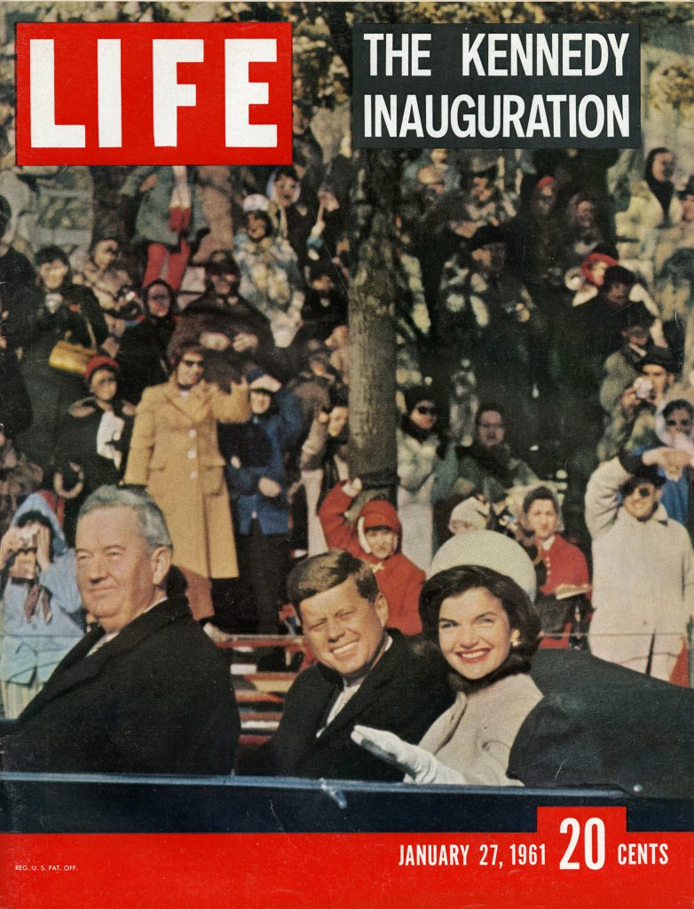 Jan. 27, 1961 cover of LIFE magazine. Cover photo by Leonard McCombe.