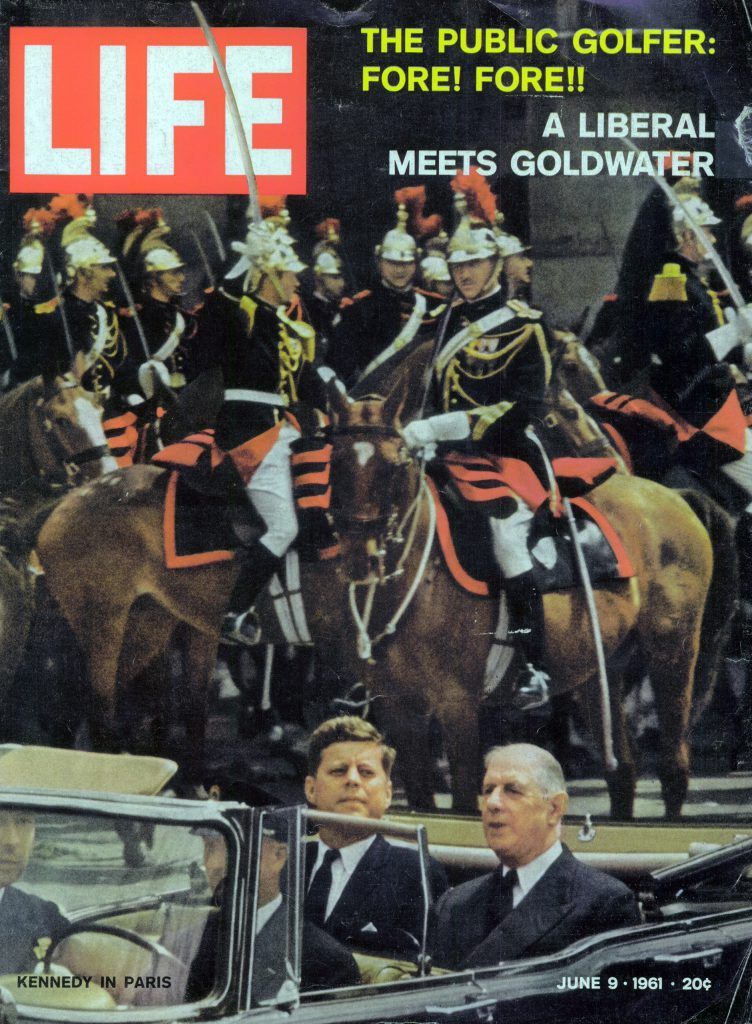 June 9, 1961 cover of LIFE magazine. Cover photo by Paul Schutzer.