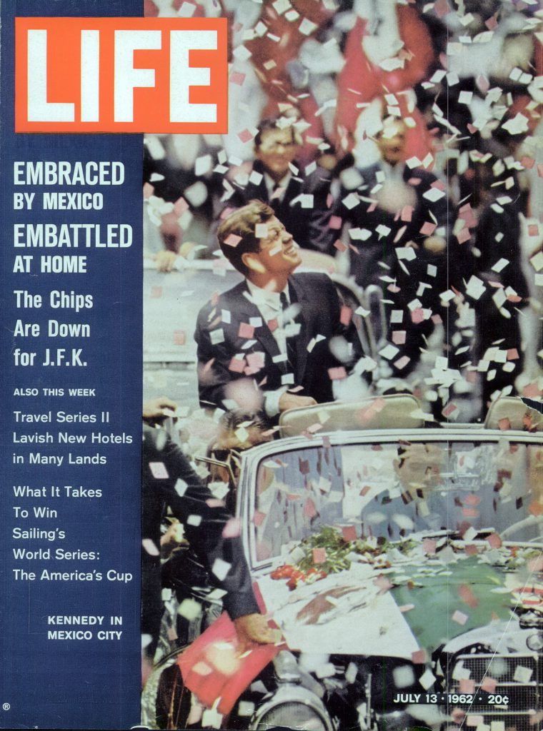 July 13, 1961 cover of LIFE magazine. Cover photo by John Dominis.