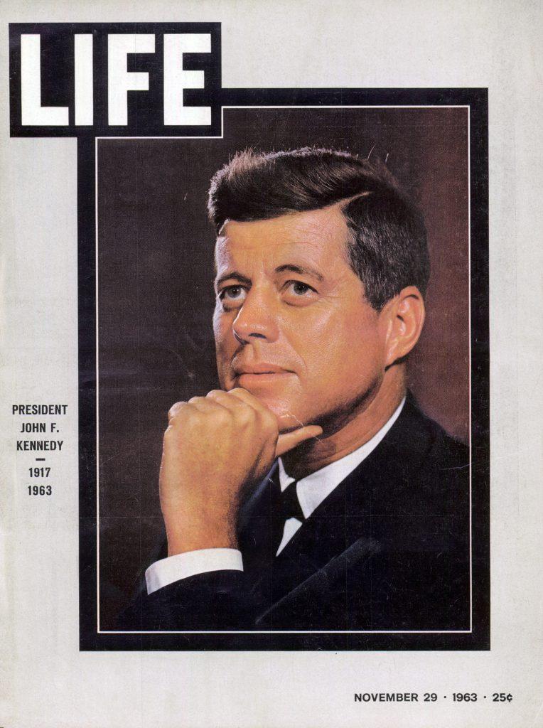 Nov. 19, 1963 cover of LIFE magazine. Cover photo by Karsh, Ottawa.