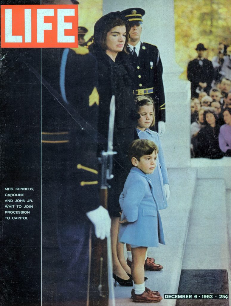 Dec. 6, 1963 cover of LIFE magazine. Cover photo by Fred Ward.