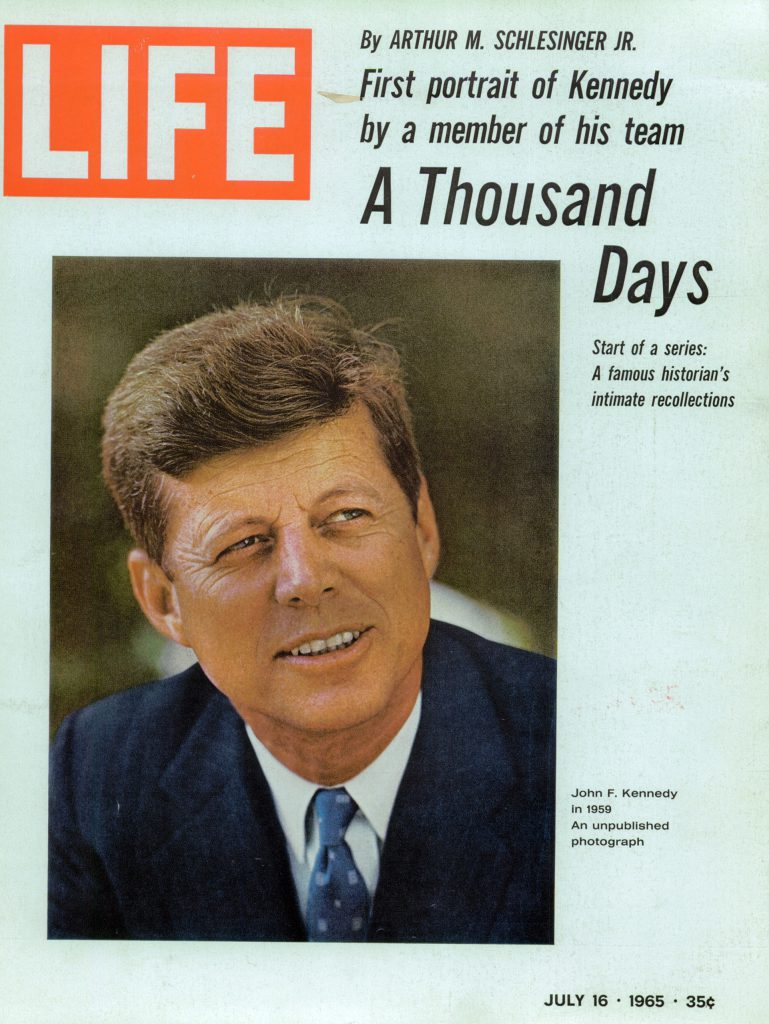 July 16, 1965 cover of LIFE magazine. Cover photo by Mark Shaw.
