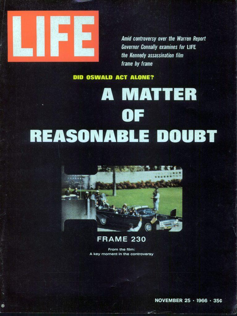 Nov. 25, 1966 cover of LIFE magazine.