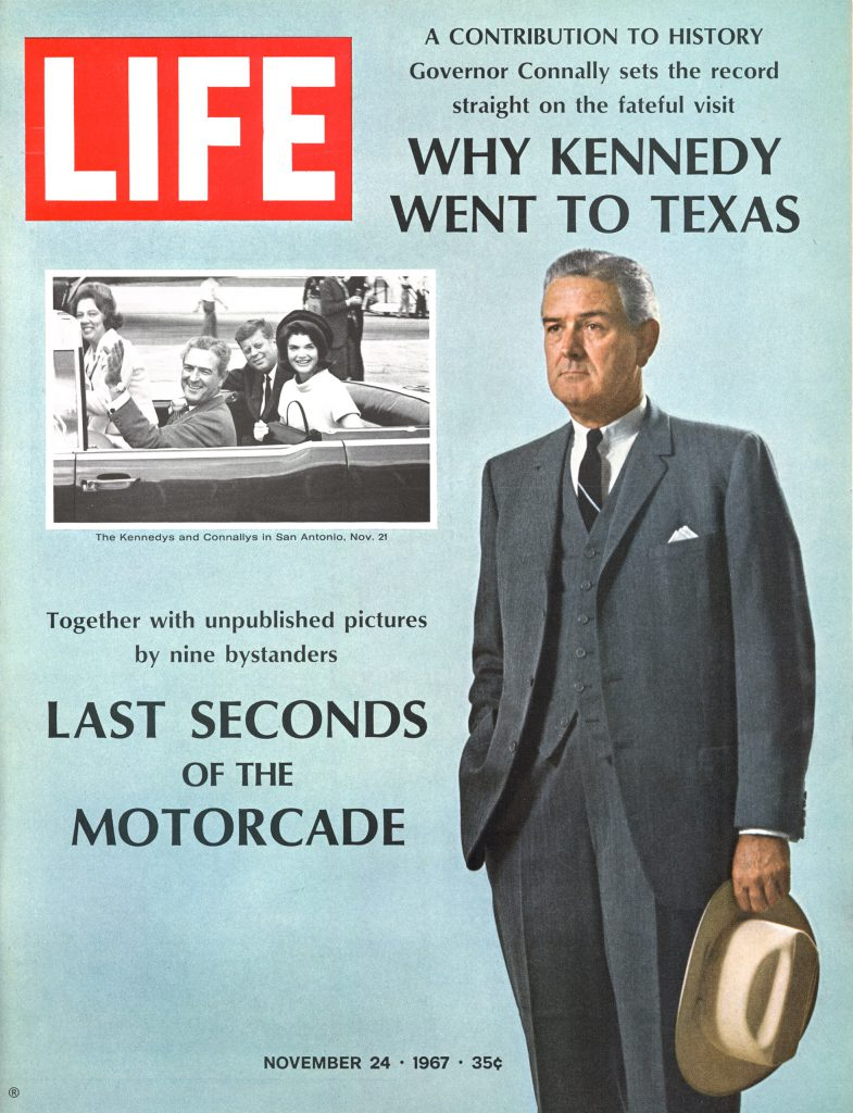Nov. 24, 1967 cover of LIFE magazine. Main cover photo by John Dominis, insert by Zintgraff.