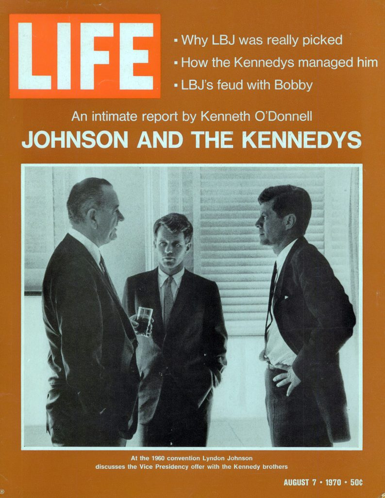 Aug. 7, 1970 cover of LIFE magazine. Cover photo by Jaques Lowe.