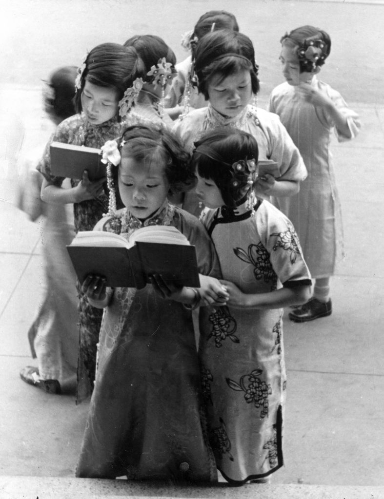 Chinese-American children in San Francisco, 1936.