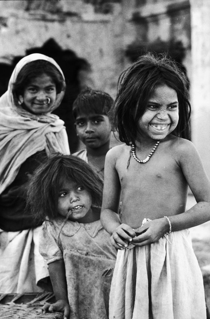 A group of children in India, 1963.