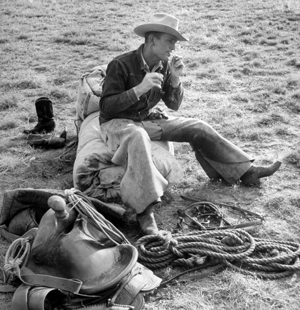Cowboy Clarence H. Long from the iconic 1949 LIFE magazine cover.